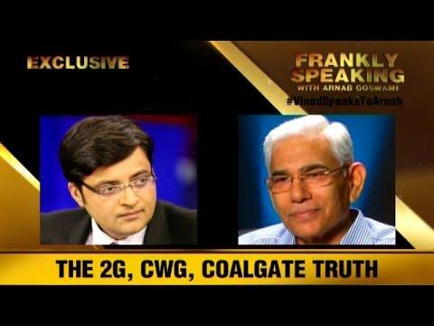The Newshour  Debate: Vinod Speaks To Arnab - Part 1 (11th September 2014)