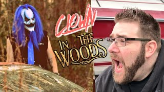 WE SAW STALKER KLOWN GO INTO THE WOODS!