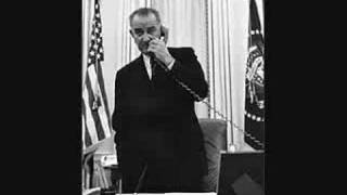 LYNDON JOHNSON TAPES: Flirting with Post Editor & Civil Rights (1)