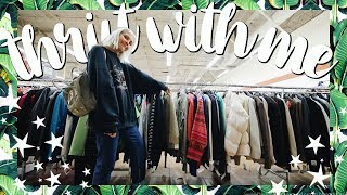 Come Thrift With Me | Black Friday Thrift Store SALE  | BIG Try On Thrift Store Haul