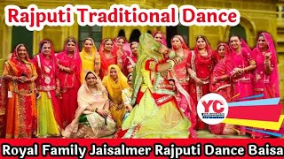 Rajasthani traditional dance !! Real rajput style dance !! Party with family. ...