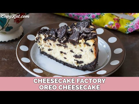 Cheesecake Factory Oreo Cheesecake