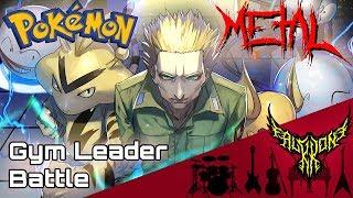 Pokémon Red / Blue / Green - Battle! Gym Leader 【Intense Symphonic Metal Cover】