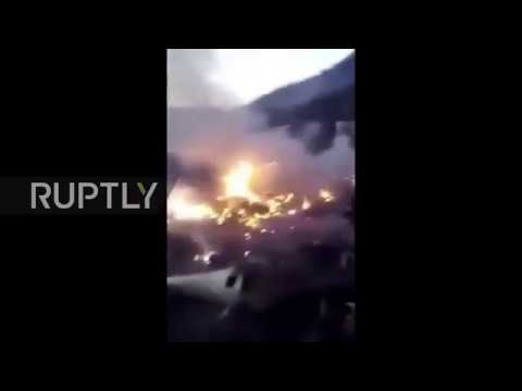 Pakistan: Commercial plane crashes with up to 47 aboard