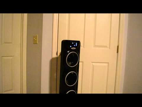 Ozeri 3x Tower Fan Video Review video