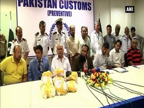 27-kg heroin seized from aircraft at Karachi airport- ANI News