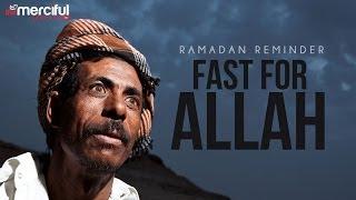 Fast For Allah #Ramadan – Sheikh Alaa El Saeed