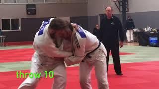 Referee training 40 throws & or JUDO throw names study