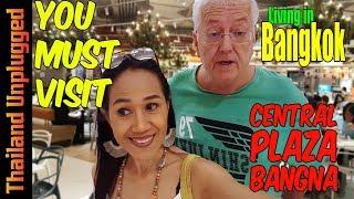You Must Visit Central Plaza Bangna Shopping in Bangkok, Thailand 4K