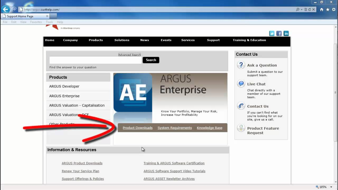 New ARGUS Software Support