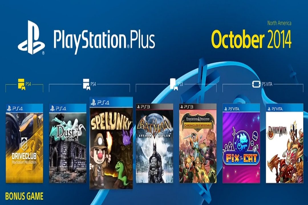 free games on ps4 october