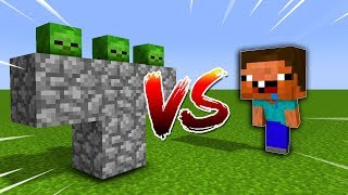 NOOB VS CON ZOMBIE KHỔNG LỒ NHẤT MINECRAFT !!! 😱😱😱 - MINECRAFT NOOB VS ZOMBIE