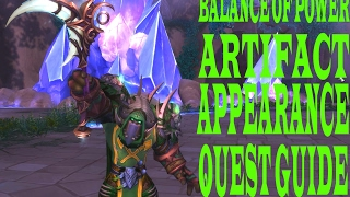 BALANCE OF POWER ARTIFACT APPEARANCE QUEST GUIDE
