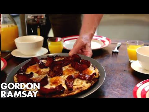 Eggs Baked in Hash Browns | Gordon Ramsay