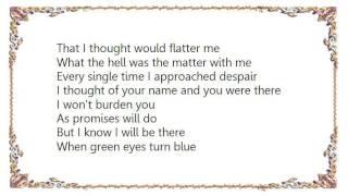 Watch Elvis Costello When Green Eyes Turn Blue video