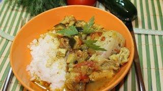 Цыпленок по мароккански.