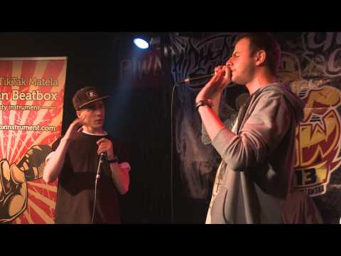 Mat Lo Vs Mic Bandit - Polish Beatbox Battle 2013 - Quarterfinal video