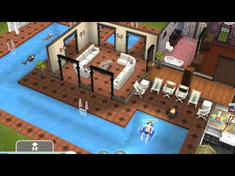 Sims Freeplay Two-Storey Mansion