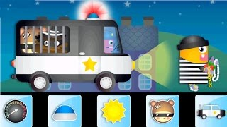 Fun Educational Puzzle Game for Kids and Baby   Police car Fire Truck Ice Cream Airplane Train Games