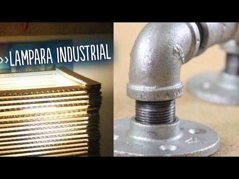 Lámpara industrial de metal (The Boxtrolls)