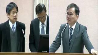 20170327 劉櫂豪立委關注法律追溯期 強調法律安定建立在人民的信任上