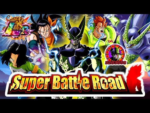 INT LR CELL MAKES SUPER BATTLE ROAD A JOKE! | Dragon Ball Z Dokkan Battle