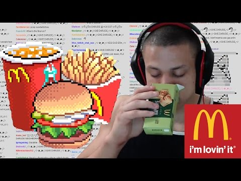 TYLER1 MCDONALDS FOOD REVIEW