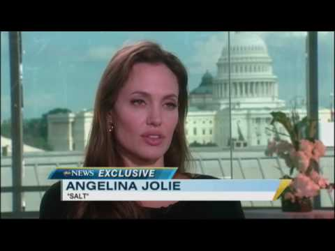 Angelina Jolie on 'Salt,' Family and Being Tough