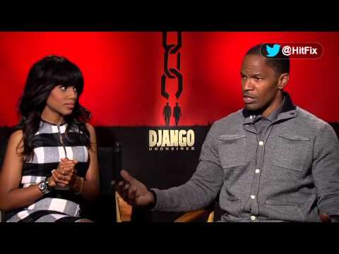 Django Unchained - Interview with Jamie Foxx and Kerry Washington