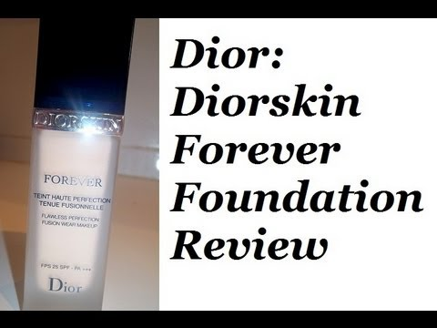 review dior diorskin forever foundation youtube. Black Bedroom Furniture Sets. Home Design Ideas