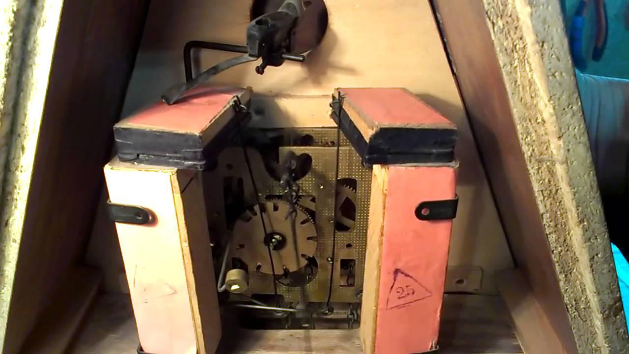 Механизм для часов с кукушкой своими руками 34