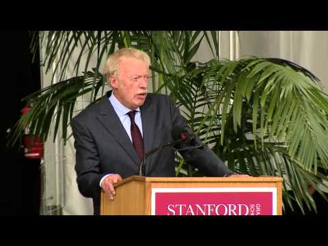 Stanford Graduate School of Business Graduation Remarks by Phil Knight, MBA '62