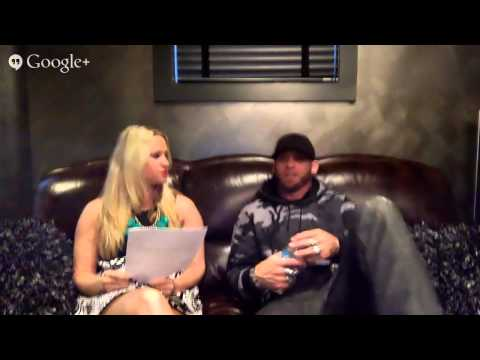 Brantley Gilbert Google+ Hangout video