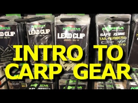 How to catch carp - Introduction to carp fishing gear -carp kit -Tackle Den
