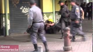 Policiais flagrados em atos de agressão são presos