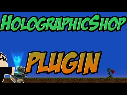 HolographicShop Bukkit Plugin Minecraft | 1.8 Spigot | German| | Tutorial |