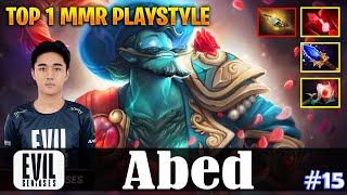 Abed - Storm Spirit MID | TOP 1 MMR PLAYSTYLE vs 23savage (Morphling) | Dota 2 Pro MMR Gameplay#15