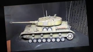 Building Dragon Panzer 4 Reconnaissance Tank. From Start to Finish.