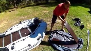надувная лодка ривьера 3200 ск с мотором ямаха 9.9 видео