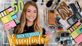 50 BACK TO SCHOOL ESSENTIALS // JustSayEleanor ♡ (Schulsachen)