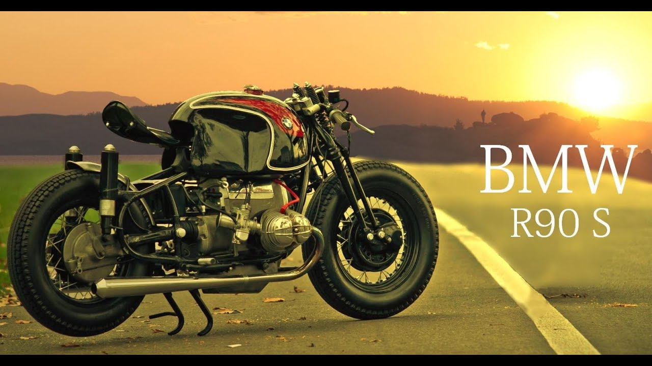 Cafe Racer Bmw R90 S By Sebastien Beaupere Youtube