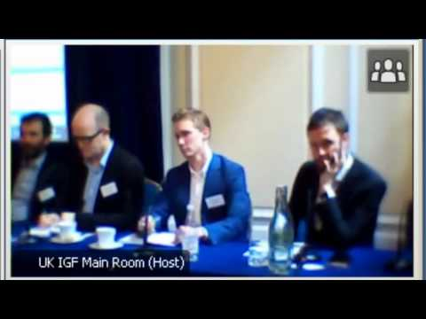 UK Internet Governance Forum 2014 - Child Protection