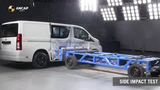 ANCAP SAFETY RATING:  Toyota HiAce (May 2019 - onwards)
