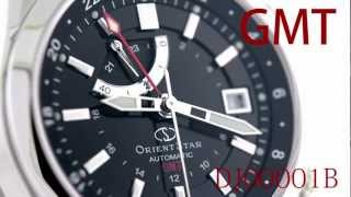 Orientstar Star Seeker GMT DJ00001B mechanical hand winding movement made in Japan.