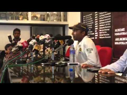 Mahela Jayawardene's speech to Media
