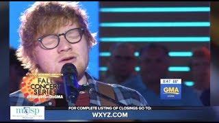 Ed Sheeran -  Perfect - GMA (LIVE)