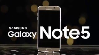 Samsung Galaxy Note 5 Official Introducing