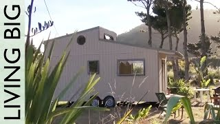 Amazing DIY Off-Grid Modern Tiny House - Moved In