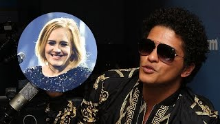 download lagu Bruno Mars Reveals He & Adele Butted Heads Over gratis