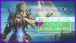 First Look At The Crazy And Weird MMORPG - Dragon Revolt! Is It Fun Lets Find Out!